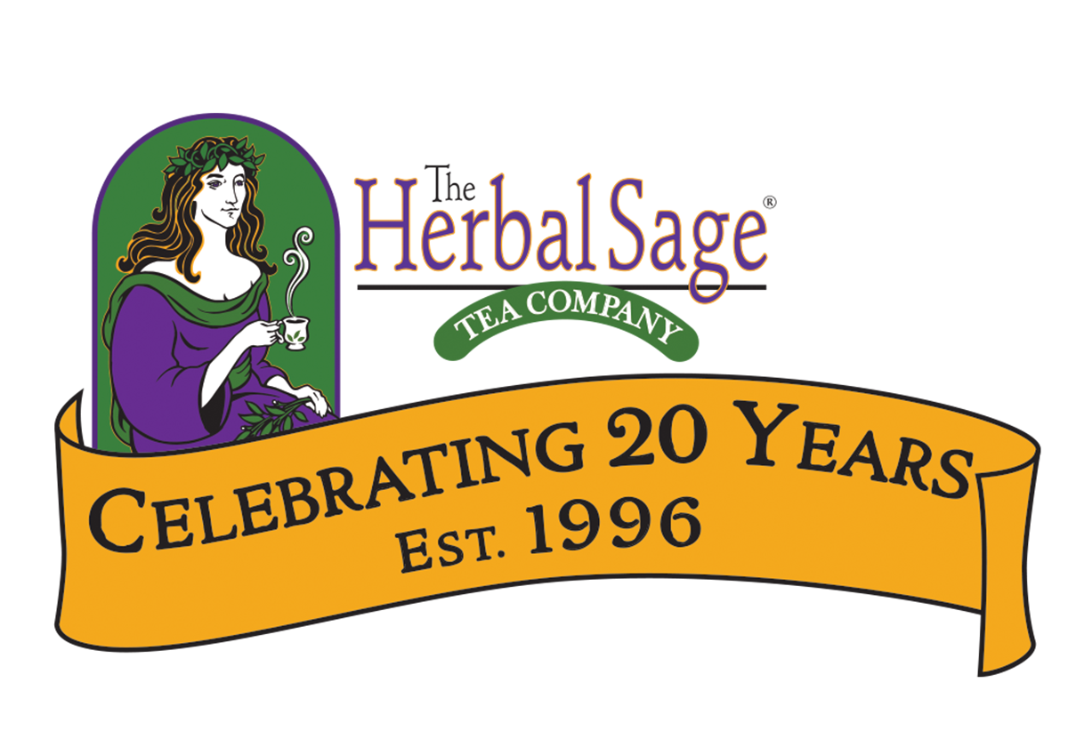 Herbal Sage Tea celebrates 20 years in business, from 1996 to 2016